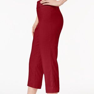 JM Collection Embellished Pull-On Capri Pants Sz L